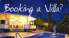 Booking a villa?