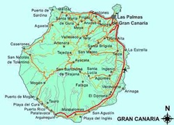 Earthquake off Gran Canaria