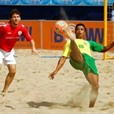 Football & Volleyball Tournaments Hit The Beach