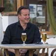 DOUBLE TROUBLE Another Prime Minister Holidays On Lanzarote