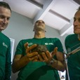 SPACED OUT Mars Astronauts In Training On Lanzarote
