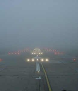 FOG HORN London Weather Disrupts Tourist Flights