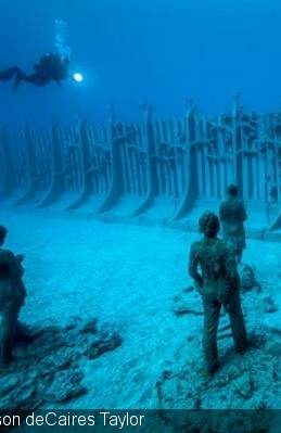 NEW WAVE Europe´s First Underwater Museum Opens On Lanzarote