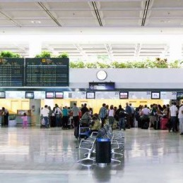 SEAT NUMBERS Foreign Tourist Arrivals Drop In December