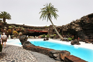 Gardens at Jameos del Agua