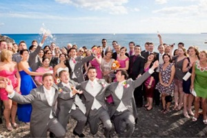 Wedding organised by Rocks and Roses