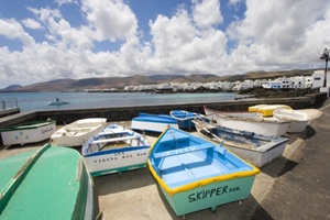 Fishing boats in Arrieta