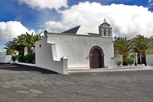 Village church in Femes
