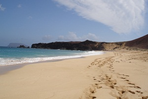 Playa La Concha on La Graciosa
