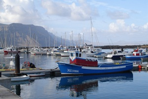 The harbour at Caleta del Sebo