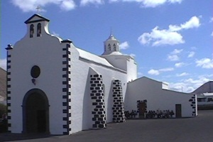 Church at Mancha Blanca