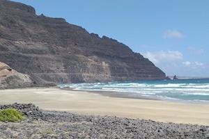 Beach at Playa Quemada