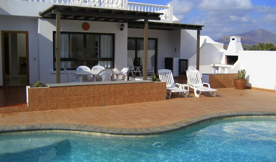 Villa Paloma, Playa Blanca, Pool