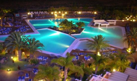 Hotel Beatriz Costa and Spa, Costa Teguise, Nightime