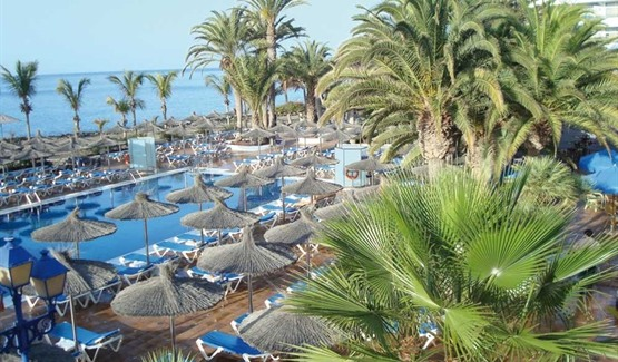 San Antonio Hotel, Puerto del Carmen, Pool and Gardens