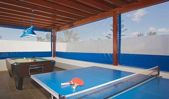 Villa Celeste, Playa Blanca, games room