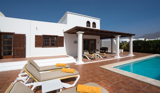 Villa Maria, Playa Blanca, Swimming Pool Area