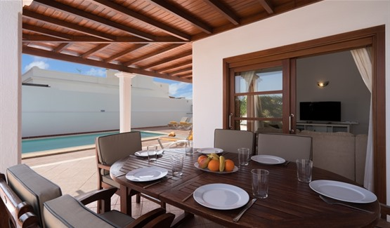 Villa Maria, Playa Blanca, Outdoor Dining