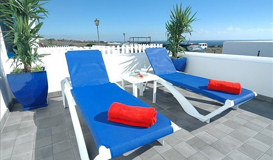 Apartment Azul, Sun Loungers