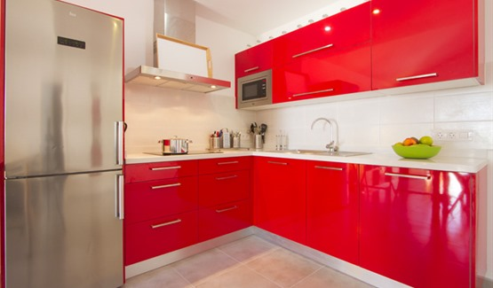 Playa Flamingo H, fitted kitchen
