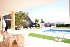 Luxury Villa for Sale, garden and pool area
