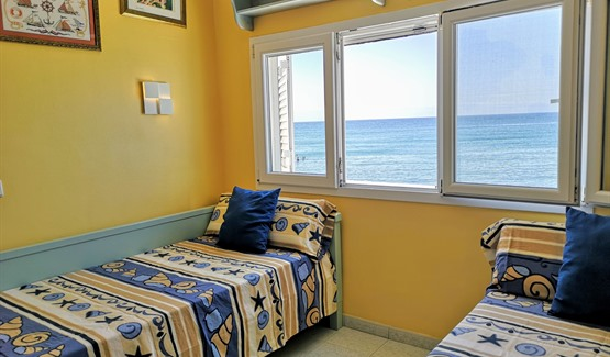 Seafront Apartment, second bedroom